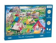 Camping No 10 1000 Piece|House of Puzzles